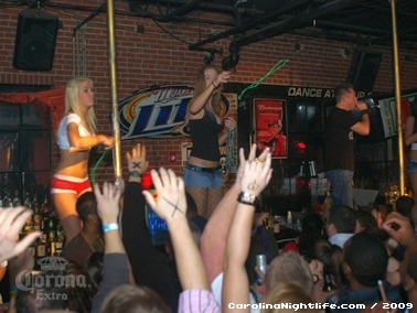 Bikini Bull Riding contest Thursday nights at BAR Charlotte - Photo #22593