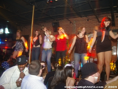 Bikini Bull Riding contest Thursday nights at BAR Charlotte - Photo #22619