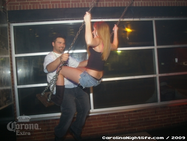 Bikini Bull Riding contest Thursday nights at BAR Charlotte - Photo #22622