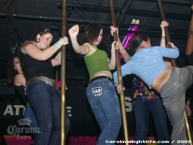 Bikini Bull Riding contest Thursday nights at BAR Charlotte - Photo #22633
