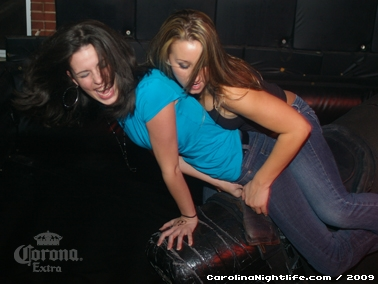 Bikini Bull Riding contest Thursday nights at BAR Charlotte - Photo #22637