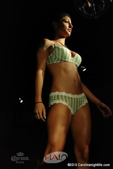 """The Launch\"" Lingerie and Swimwear Fashion Show by Alonzo Bristol at HALO Friday night - Photo #210916"