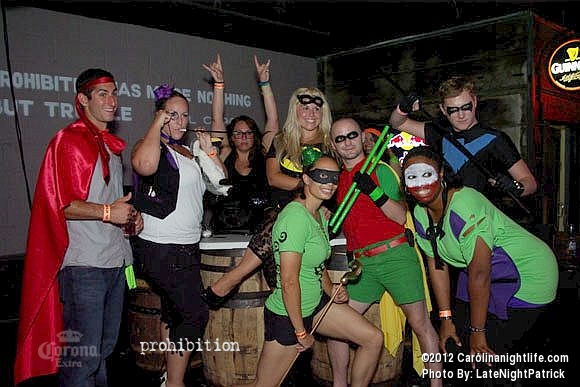 Superhero Bar Crawl with DJ Dirty at Prohibition Saturday - Photo #508474